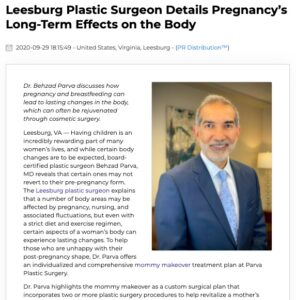 Dr. Parva explains how pregnancy can result in lasting body changes and how mommy makeover surgery can help.